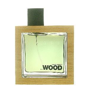 DSQUARED? He Wood 男性淡香水  100ml   (本站空運來台‧搭贈噴式香水行動補充空瓶二支)