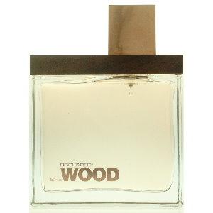 DSQUARED? She Wood 女性淡香精  100ml   (本站空運來台‧搭贈噴式香水行動補充空瓶二支)