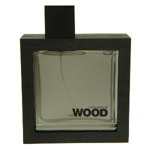 DSQUARED? He Wood Silver Wind Wood 銀風木男性淡香水  100ml   (本站空運來台‧搭贈噴式香水行動補充空瓶二支)